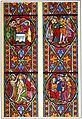 Glasfenster Ritterstiftskirche St Peter Bad Wimpfen Zeichnung Carl Bronner ca 1898.jpg