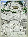 Glassmaking - Picture book of Sir John Mandeville's Travels (c.1410), f.16 - BL Add MS 24189.jpg