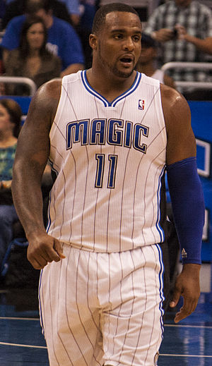 Glen Davis (basketball) - Davis with the Magic in 2012