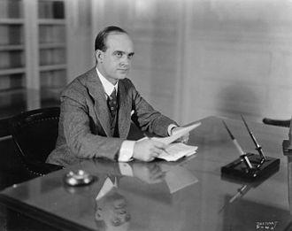 Glenn Frank - Frank at his desk, c. 1925