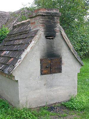 Gocsej village oven