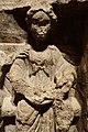 Goddess Holding Basket of Fruit on Sculpture in the Museum of London.jpg