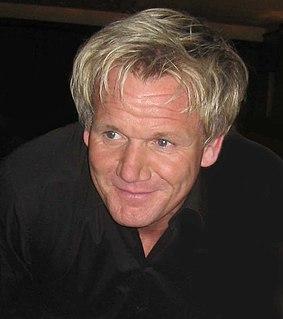 Gordon Ramsay British chef, restauranteur and television personality