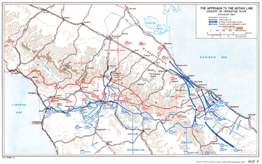 Gothic Line - Concept of OperationOlive 1944