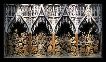 Gothic Sculpture Late 15th Century Amiens Cathedral Art Was A Style