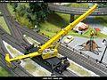 Gottwald Railway Telescopic Crane GS 100.06T DB Bahnbau Kibri 16000 Modelismo Ferroviario Model Trains Modelleisenbahn modelisme ferroviaire ferromodelismo (14396944786).jpg