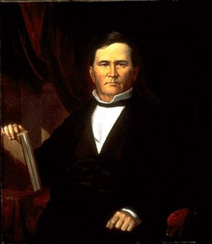 David Wallace (Indiana politician) - Image: Gov David Wallace Portrait