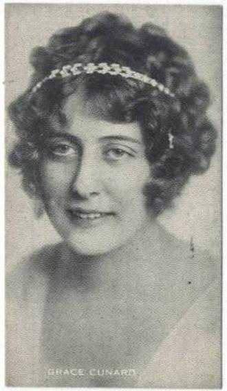 Grace Cunard - Image: Grace Cunard Trading Card