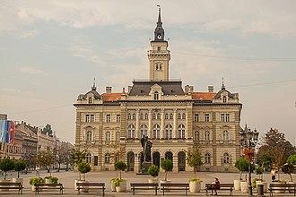Politics of Novi Sad - The City Hall - Office of the mayor. Built in 1894 according to the project of architect Molnár György.