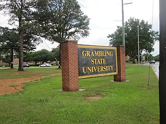 Grambling State University - Image: Grambling State University sign IMG 3645