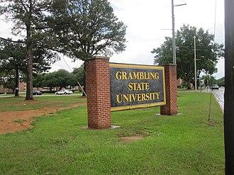 Grambling State University - Image: Grambling State University sign IMG 3645