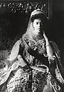 Grand Duchess Olga Alexandrovna wearing the traditional dress of the Russian court.JPG