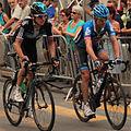 Grand Prix Cycliste de Québec 2012, Geraint Thomas & Christian Vande Velde (7957887512).jpg