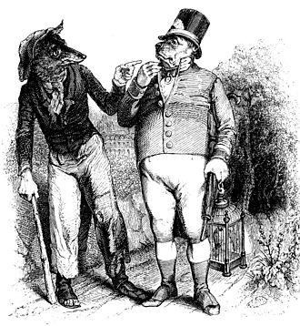 "Jean Ignace Isidore Gérard Grandville - Grandville's ""metamorphoses"" were highly influential to fantastic illustration"