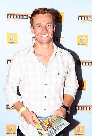 Grant Denyer - Denyer at Flickerfest in January 2013