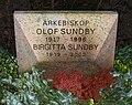 Grave of swedish arch bishop olof sundby lund sweden.jpg