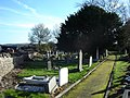 Graveyard in St Mary's Church, Nercwys - geograph.org.uk - 281255.jpg