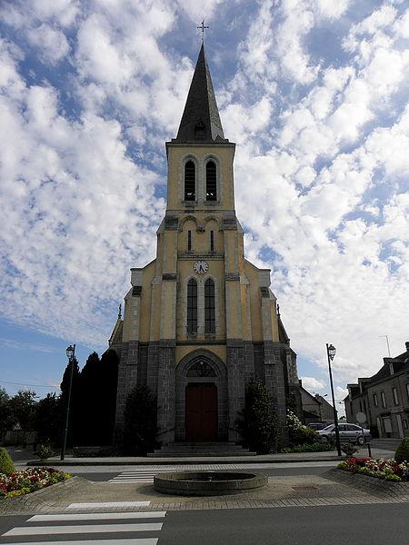 Église Notre-Dame-de-l'Assomption de Grazay (53).
