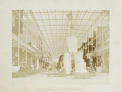 Great Exhibition, Transept looking west, HF Talbot, 1851.jpg