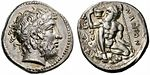 Greek Silver Tetradrachm of Naxos (Sicily).jpg