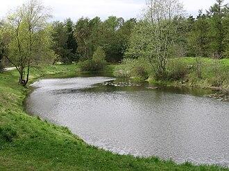 Grenaa Municipality - Grenaa Forest Lake (Skovsø), in Grenaa, Denmark.  Photo: Bjarke Freund-Hansen (May 2005).