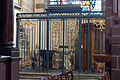 Grille de la chapelle baptismale de la basilique saint Sauveur (Rennes, Ille-et-Vilaine, France).jpg