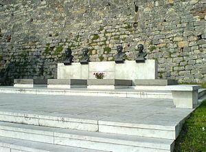 Ivan Milutinović - Tomb of the People's heroes