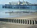 Groynes and Pier, Hastings - geograph.org.uk - 1563738.jpg