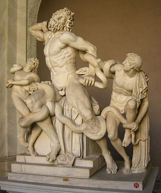 Laocoön and His Sons - The other oblique view