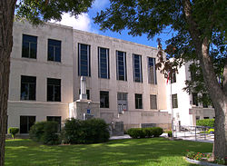 The Guadalupe County Courthouse in Seguin