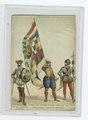 Guerre des Pays-Bas contre l'Espagne, 1572. Officier, ensiegne et capitaine de la milice Belge (NYPL b14896507-84275).tiff