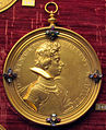 Guillaume dupré, medaglia di Francesco di Ferdinando de' Medici, 1613 (no verso, bronzo dorato) 2.JPG