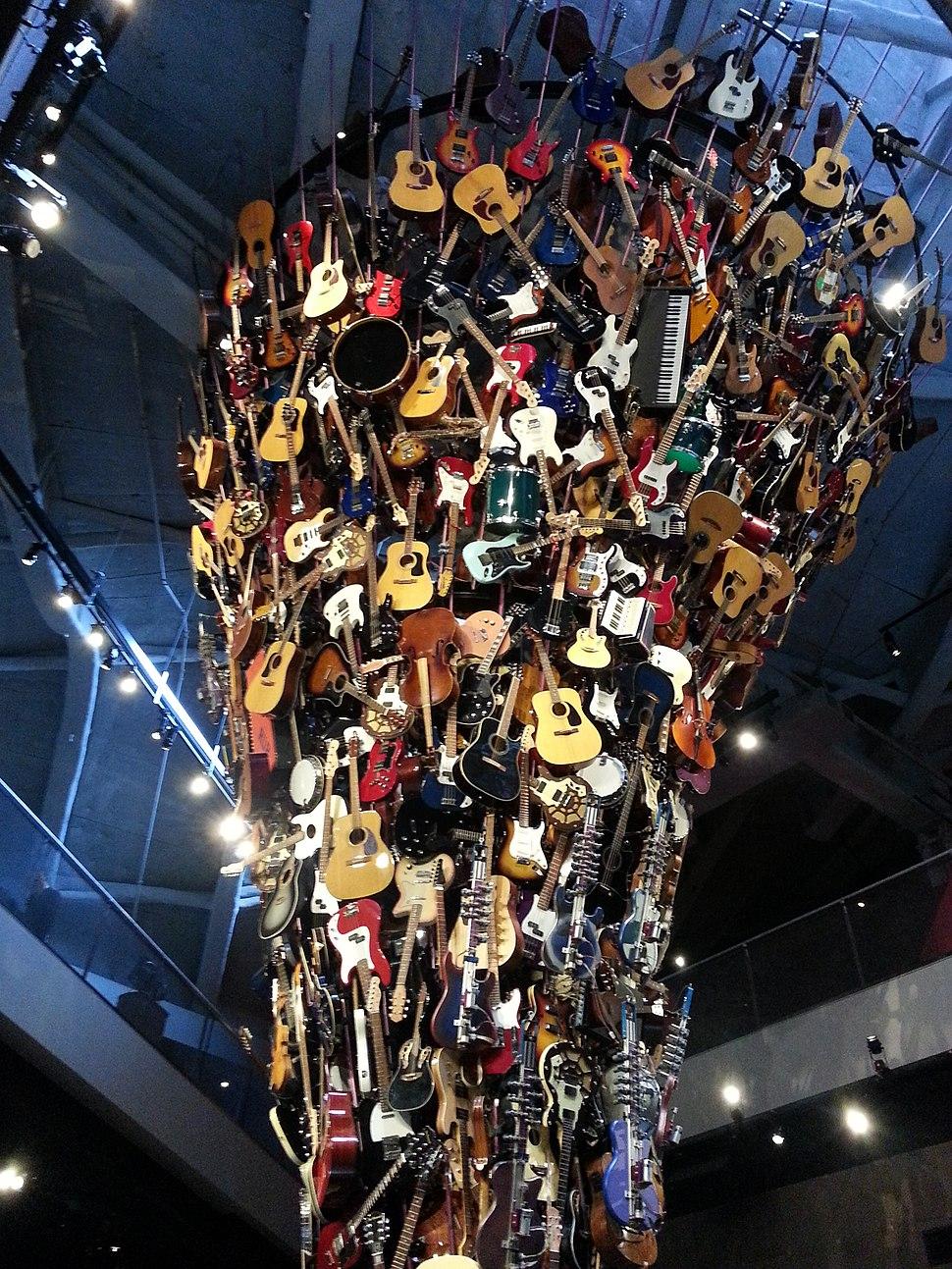 Guitar Art at the EMP