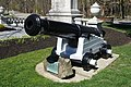 Gun removed from the USS Constitution at Boston 1931 - World War I Memorial - Belmont, MA - DSC09131.jpg