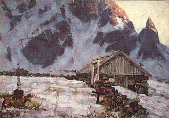 Gunnar Berg (painter) - Image: Gunnar Berg Reine kirkegård