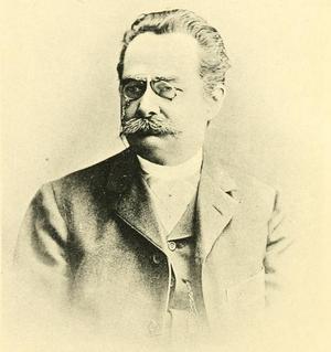 Gustav Gröber - Picture of Gustav Gröber, Romance philologist and professor