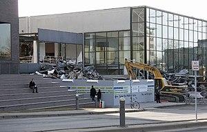 Ralph Rapson - The first Guthrie Theater (1963) during demolition (2006)