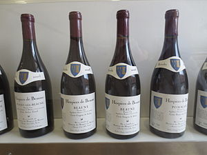 Guigone de Salins - Cuvée de Beaune, a premier cru from the Hospices de Beaune<nowiki/>, dedicated to Guigone de Salins.