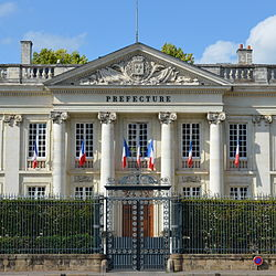 Prefecture building of the Loire-Atlantique department, in Nantes