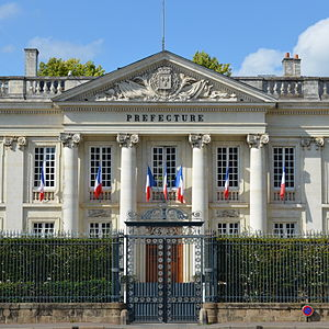 Loire-Atlantique - Prefecture building of the Loire-Atlantique department, in Nantes