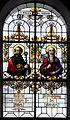 Hürbel Pfarrkirche Fenster Apostel Paulus und Matthias.jpg