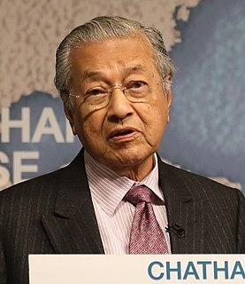 Mahathir Mohamad Malaysian politician