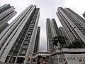 HK 沙田 Shatin North 寶城街 Po Shing Street 沙田第一城 City One facades evening January 2020 SS2 03.jpg