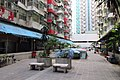 HK 鰂魚涌 Quarry Bay 英皇道 King's Road 福昌樓 Fook Cheong Building terrace April 2018 IX2 05.jpg