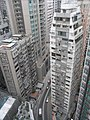 HK Mid-levels 21 Robinson Road Good View Court roof view 寶時大廈 Peace Tower March-2011.JPG