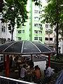 HK STT Shek Tong Tsui 屈地街 Whitty Street park n visitors n trees July-2015.JPG