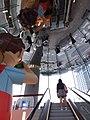 HK TST 尖沙咀 Tsim Sha Tsui K11 MUSEA escalators Salisbury Road March 2020 SSG 03.jpg