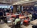 HK TSW 天水圍 Tin Shui Wai 天恩路 Tin Yan Road 嘉湖銀座 Kingswood Ginza mall shop MX restaurant interior n visitors Dec 2016 Lnv2.jpg
