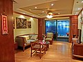 HK Yau Ma Tei 碧桂園 Country Garden 宏利公積金大廈 Manulife MPF Place ShowFlat living room Apr-2013.JPG
