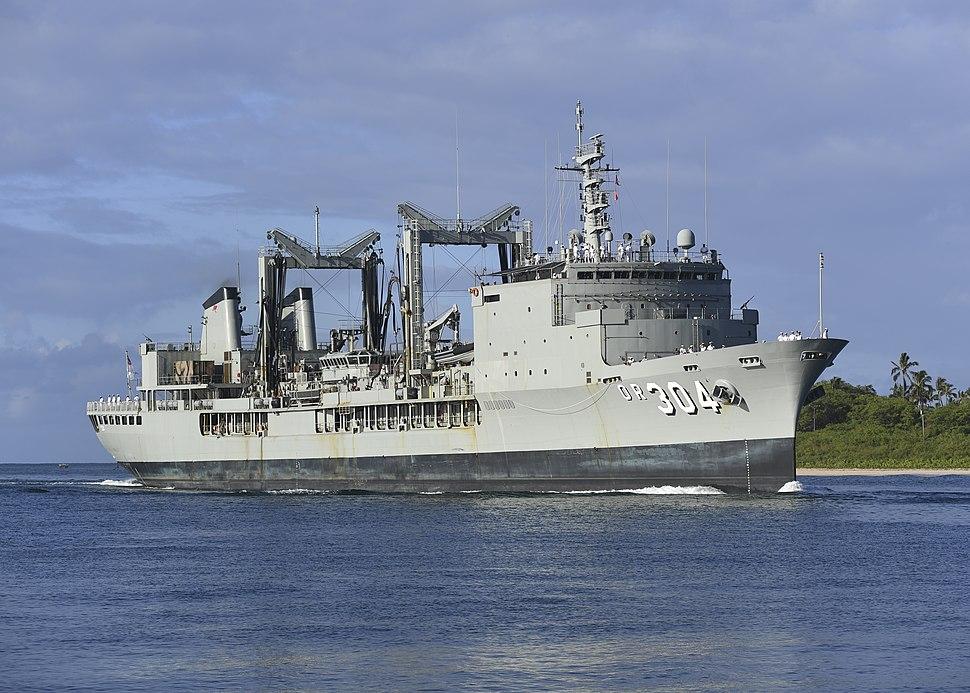 HMAS Success in Pearl Harbor June 2018